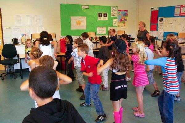 Workshop Kidsdance  Vlaanderen.