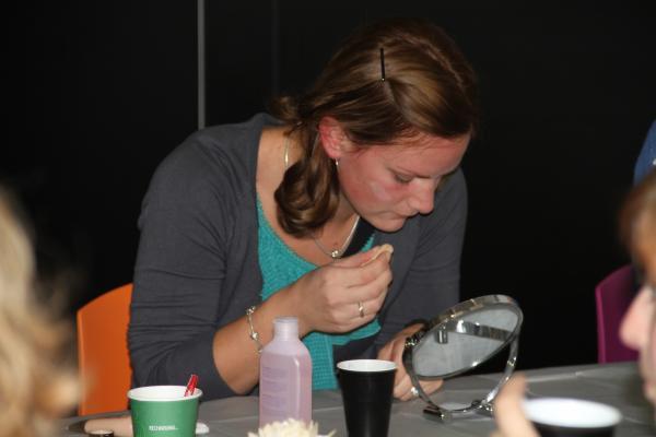 Workshop Visagie in Vlaanderen